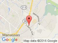 Map of Auto Max Center at 9111 Antique Way, Manassas, VA 20110