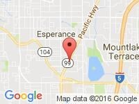 Map of Complete Auto Brokers at 23607 Hwy 99, 1-E, Edmonds, WA 98026