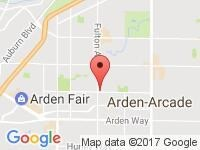 Map of Sac Euro at 2100 Fulton Ave Suite A, Sacramento, CA 95825