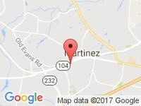 Map of Gary Settles - Owner/Operator at 102 Prince Dr, Martinez, GA 30907