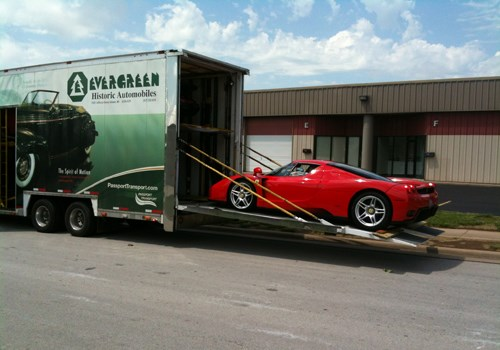 Motorcars International Exotic Car Transportation