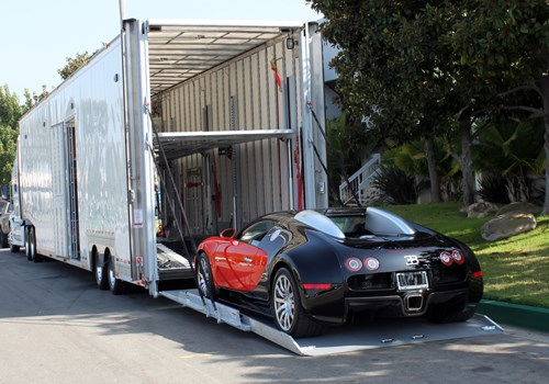 Enclosed Exotic Car Transportation