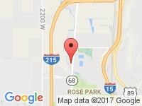 Map of TJ Chapman Auto at 2021 N Redwood Rd, Salt Lake City, UT 84116