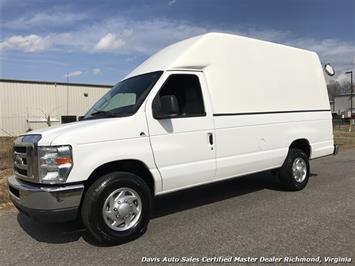 2010 Ford E-Series Econoline E-350 SD Diesel Extended Length High Top Work Cargo HCV Van