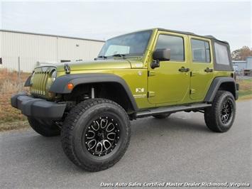 2007 Jeep Wrangler Unlimited X Sport SUV