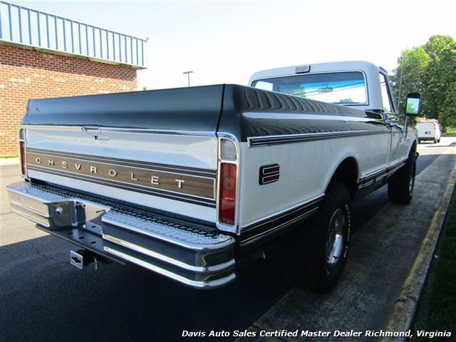 1971 Chevrolet Cheyenne C/K 10 4X4 Regular Cab Long Bed - Photo 26 - Richmond, VA 23237