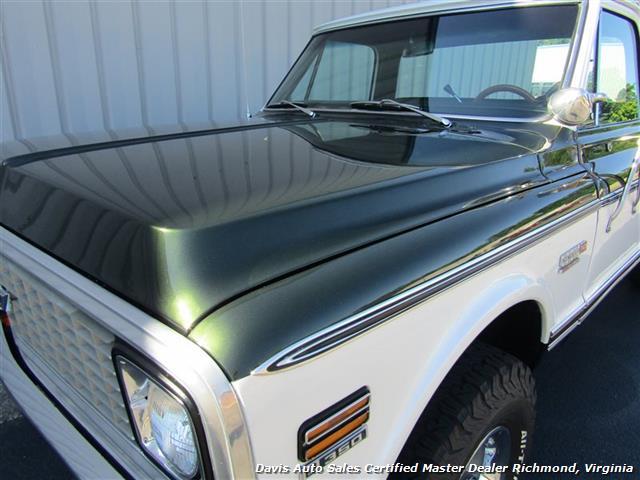 1971 Chevrolet Cheyenne C/K 10 4X4 Regular Cab Long Bed - Photo 29 - Richmond, VA 23237