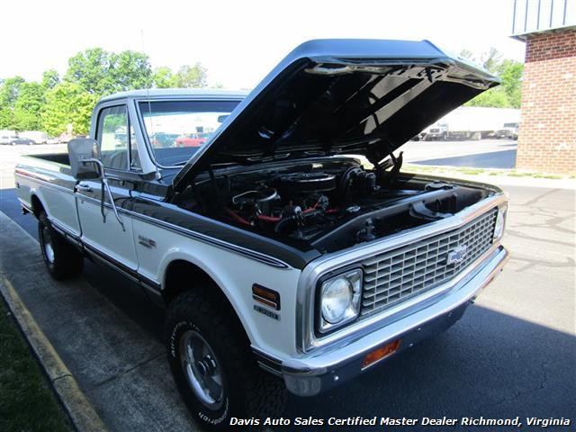 1971 Chevrolet Cheyenne C/K 10 4X4 Regular Cab Long Bed - Photo 17 - Richmond, VA 23237