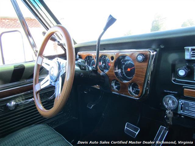 1971 Chevrolet Cheyenne C/K 10 4X4 Regular Cab Long Bed - Photo 37 - Richmond, VA 23237