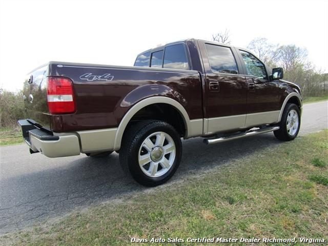 2008 Ford F-150 King Ranch Fully Loaded 4X4 SuperCrew Short Bed - Photo 19 - Richmond, VA 23237