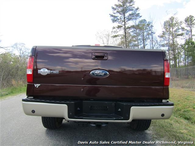 2008 Ford F-150 King Ranch Fully Loaded 4X4 SuperCrew Short Bed - Photo 22 - Richmond, VA 23237