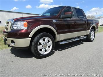 2008 Ford F-150 King Ranch Fully Loaded 4X4 SuperCrew Short Bed - Photo 1 - Richmond, VA 23237
