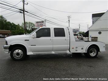 2003 Ford F-450 Super Duty Lariat 7.3 Diesel 4X4 Dually Crew Cab Western Hauler Bed - Photo 2 - Richmond, VA 23237