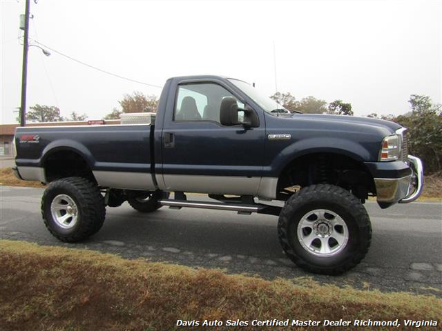 2006 ford f 250 super duty xlt fx4 4x4 regular cab long bed. Black Bedroom Furniture Sets. Home Design Ideas
