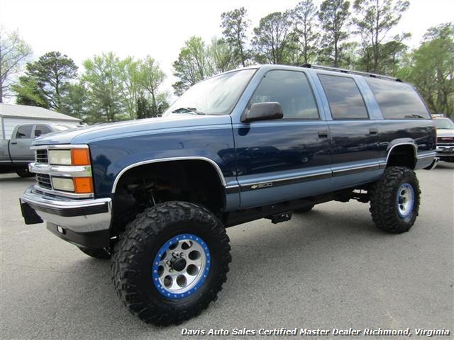 New Chevy Suburbans >> 1995 Chevrolet Suburban K 1500 LT 4X4 Lifted