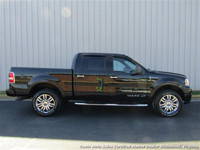 2007 lincoln mark lt 4x4 super crew short bed rare blackwood. Black Bedroom Furniture Sets. Home Design Ideas