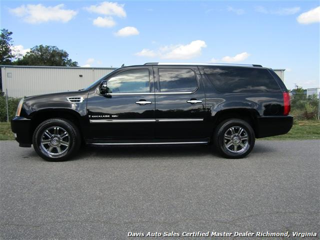 2007 cadillac escalade esv awd extended long length fully loaded. Black Bedroom Furniture Sets. Home Design Ideas