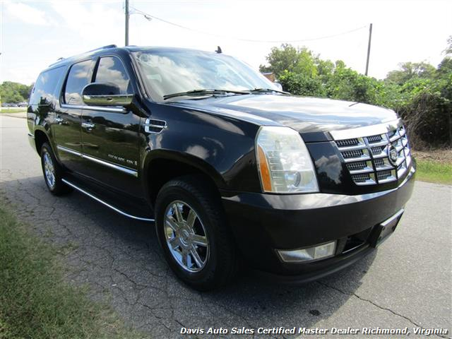 2007 cadillac escalade esv awd extended long length fully. Black Bedroom Furniture Sets. Home Design Ideas