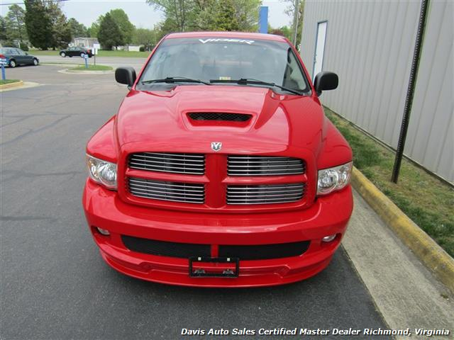 2005 dodge ram pickup 1500 srt 10 viper supercharged manual 6 speed regular cab sb. Black Bedroom Furniture Sets. Home Design Ideas