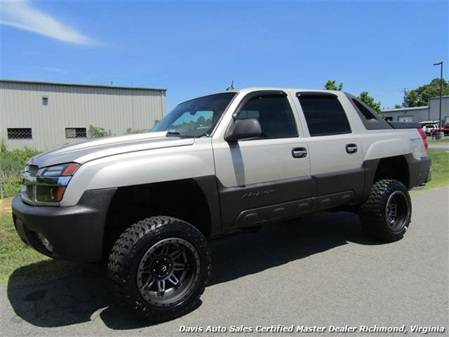 2005 chevrolet avalanche 1500 z71 lifted 4x4 crew cab. Black Bedroom Furniture Sets. Home Design Ideas