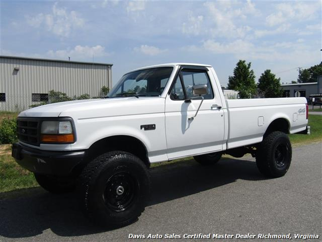 1993 Ford F-250 F-350 Super Duty XL Lifted Dana 60 Classic OBS 4X4 - Photo 1 - Richmond, VA 23237