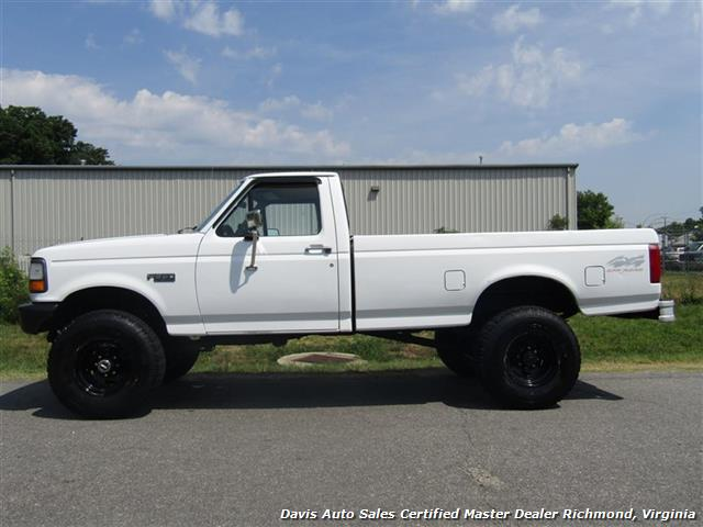 1993 Ford F-250 F-350 Super Duty XL Lifted Dana 60 Classic OBS 4X4 - Photo 2 - Richmond, VA 23237