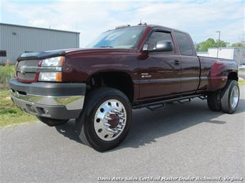2003 Chevrolet Silverado 3500 LT 4X4 Extended Cab Long Bed Dually Truck