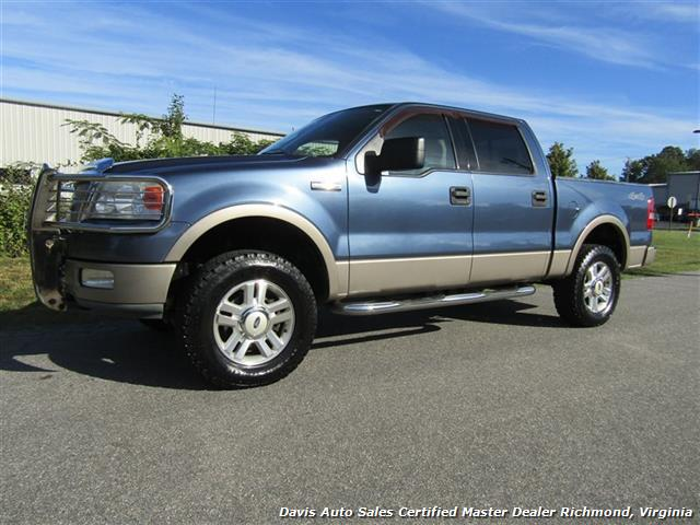 2004 ford f 150 lariat 4x4 supercrew short bed pick up. Black Bedroom Furniture Sets. Home Design Ideas