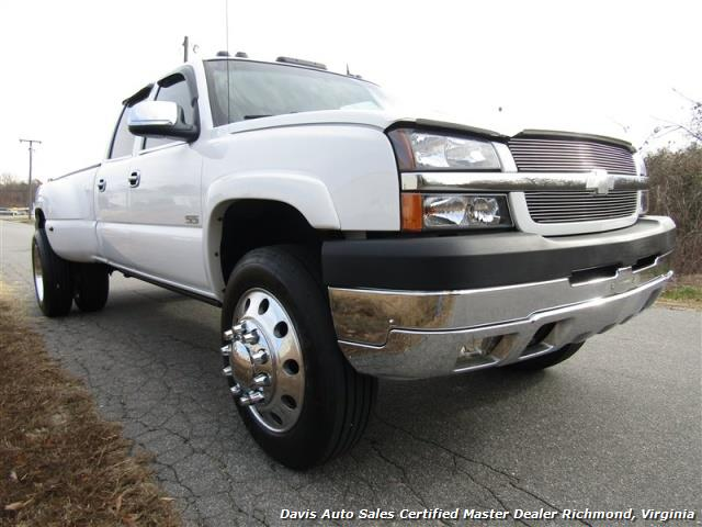 2004 chevrolet silverado 3500 lt 4x4 crew cab long bed dually. Black Bedroom Furniture Sets. Home Design Ideas