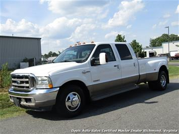 2004 Ford F-350 Super Duty King Ranch Diesel DRW Crew Cab Long Bed Truck