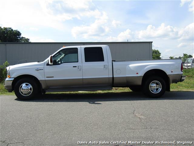2004 ford f 350 super duty king ranch diesel drw crew cab long bed. Black Bedroom Furniture Sets. Home Design Ideas