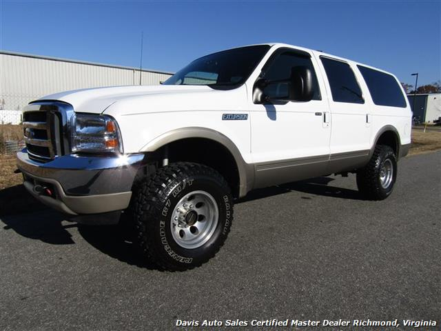 2001 ford excursion limited lifted 4x4 7 3 power stroke turbo diesel. Black Bedroom Furniture Sets. Home Design Ideas