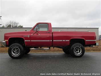 1986 Chevrolet C K10 Custom Deluxe Regular Cab 4x4 Long Bed