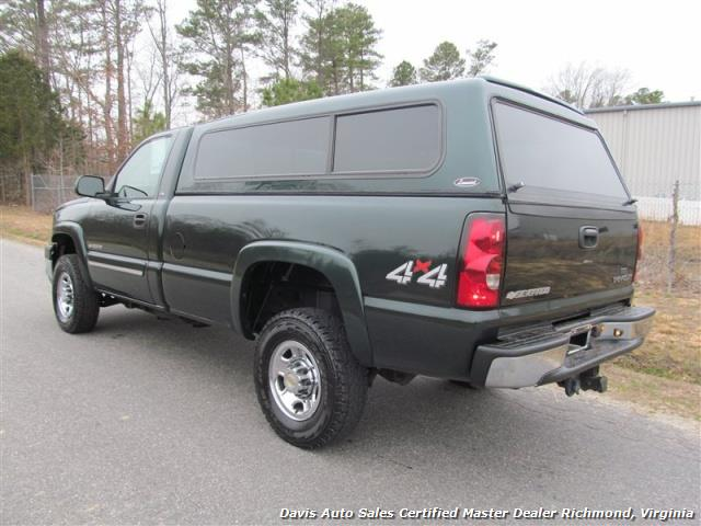 2004 chevrolet silverado 2500 hd ls 4x4 regular cab long bed. Black Bedroom Furniture Sets. Home Design Ideas