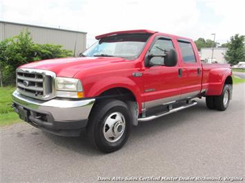 2002 Ford F-350 Super Duty XLT 4X4 Crew Cab Long Bed Dually Truck