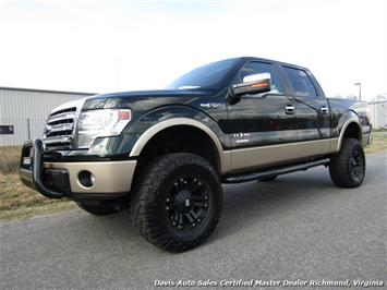 2013 Ford F-150 Lariat Texas Edition Eco Boost Lifted 4X4 Crew Cab Short Bed Truck