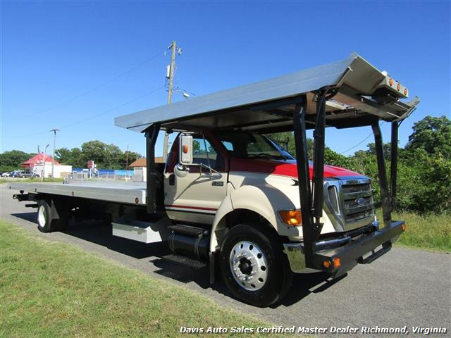 2007 Ford F-750 Super Duty XLT CAT Diesel Regular Cab Wrecker Rollback 4 Car Hauler - Photo 17 - Richmond, VA 23237