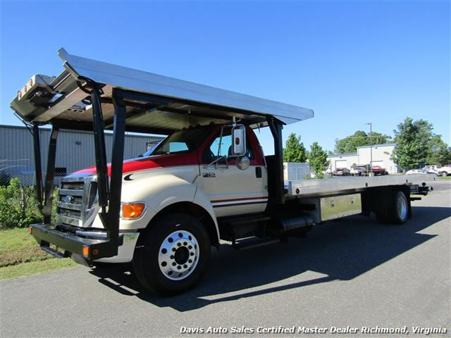 2007 Ford F-750 Super Duty XLT CAT Diesel Regular Cab Wrecker Rollback 4 Car Hauler - Photo 1 - Richmond, VA 23237