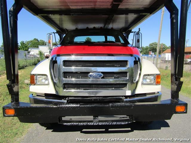 2007 Ford F-750 Super Duty XLT CAT Diesel Regular Cab Wrecker Rollback 4 Car Hauler - Photo 18 - Richmond, VA 23237