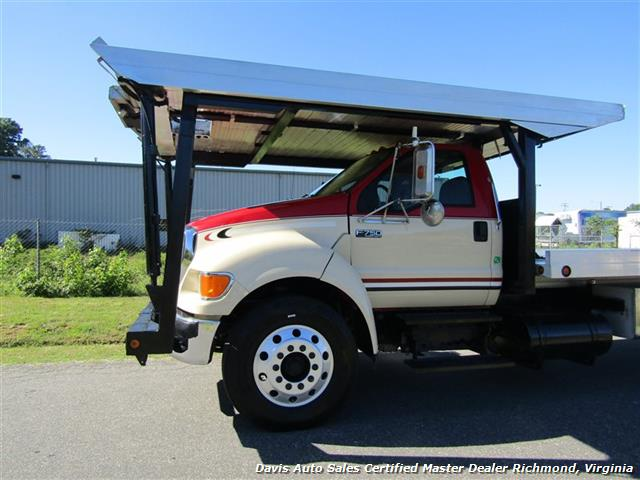 2007 Ford F-750 Super Duty XLT CAT Diesel Regular Cab Wrecker Rollback 4 Car Hauler - Photo 2 - Richmond, VA 23237