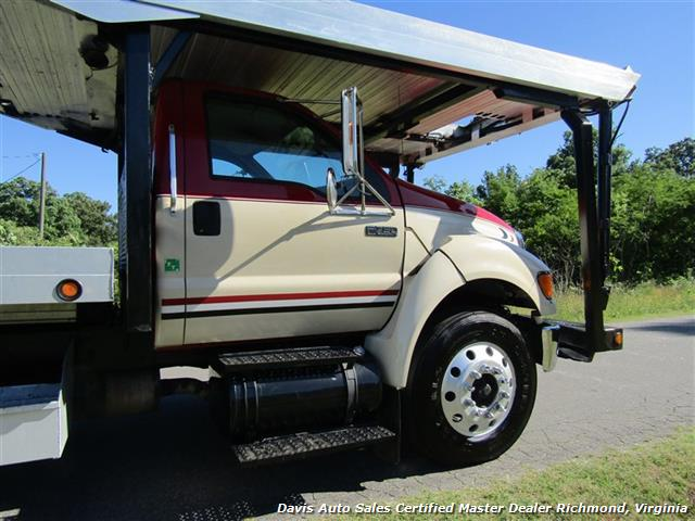 2007 Ford F-750 Super Duty XLT CAT Diesel Regular Cab Wrecker Rollback 4 Car Hauler - Photo 23 - Richmond, VA 23237