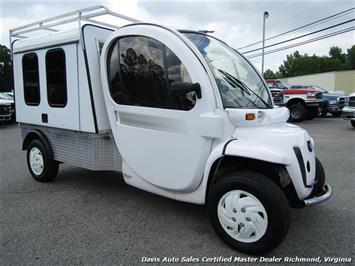 2011 GEM XD Max Box 7.0 EL Electric Utility Box Commercial Work Cart