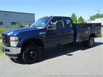 2008 Ford F-350 Super Duty XL Diesel Dually Extended Cab Work Body Utility Bed Truck