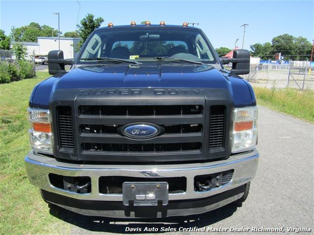 2008 ford f 350 super duty xl diesel dually extended cab work body utility bed. Black Bedroom Furniture Sets. Home Design Ideas