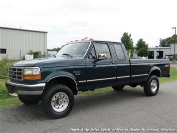 1997 Ford F-250 HD Heavy Duty XLT 7.3 Power Stroke Turbo Diesel OBS 4X4 Long Bed Truck