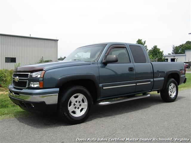 2006 Chevrolet Silverado 1500 Work Truck 4dr Extended Cab: 2006 Chevrolet Silverado 1500 LS Z71 Off Road 4X4 Extended