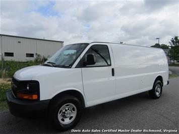 2011 Chevrolet Express 3500 Extended Length Cargo Commercial Work Van