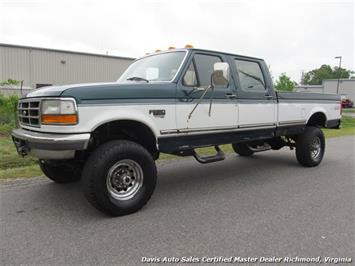 1997 Ford F-350 XLT 7.3 OBS 4X4 Crew Cab Long Bed Truck