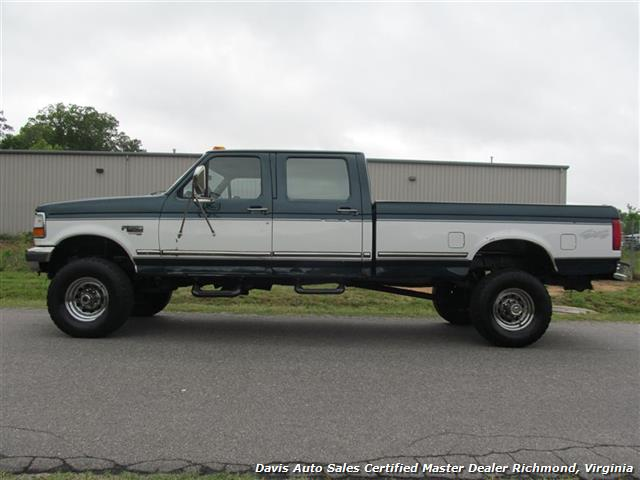 1997 Ford F-350 XLT 7.3 OBS 4X4 Crew Cab Long Bed