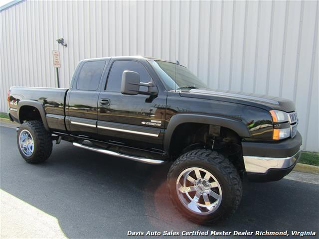 2007 Chevrolet Silverado 2500 HD LS 6.6 Duramax Diesel Lifted 4X4 Extended Cab - Photo 13 - Richmond, VA 23237